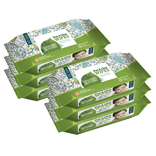 Seventh Generation Thick /& Strong Free and Clear Baby Wipes Refill Pack of...